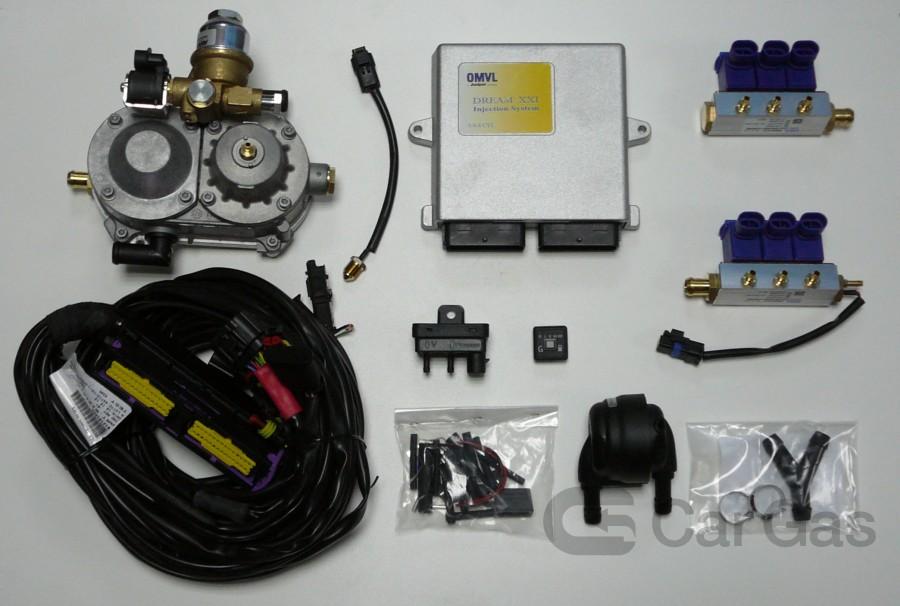 kit gpl dream xxi n obd 6 cil car gas. Black Bedroom Furniture Sets. Home Design Ideas